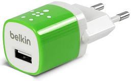Сетевое зарядное устройство Home Charger 1 USB port (5 Watt / 1 Amp) Green