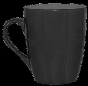 Кружка конус черная 320 мл, фото 2