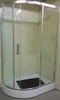 Душова кабіна Victoria-Satin 120х85 дрібний