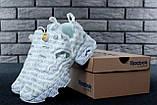 Кроссовки женские Vetements x Reebok InstaPump Fury 30883 белые, фото 3