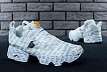 Кроссовки женские Vetements x Reebok InstaPump Fury 30883 белые, фото 5