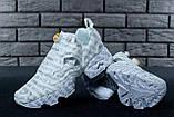 Кроссовки женские Vetements x Reebok InstaPump Fury 30883 белые, фото 7
