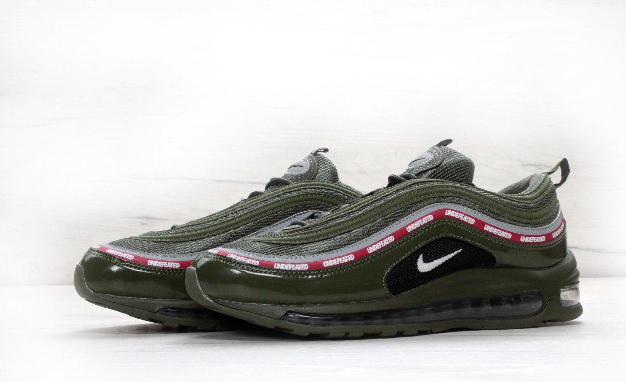 Кросівки чоловічі Undefeated x Nike Air Max 97