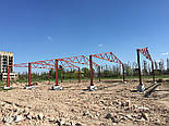 Ангар 18х60х8 под производство, склад. Фермы, навес, каркас, цех, сто, фото 2