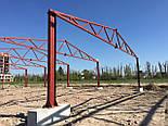 Ангар 18х60х8 под производство, склад. Фермы, навес, каркас, цех, сто, фото 3