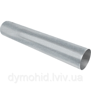 Димохідна труба з нержавіючої сталі 1000мм  AISI 304, т. 0,5(Ǿ110)