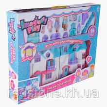 Ляльковий будинок 1205CD Doll House (звук, світло, меблі, фігурки)