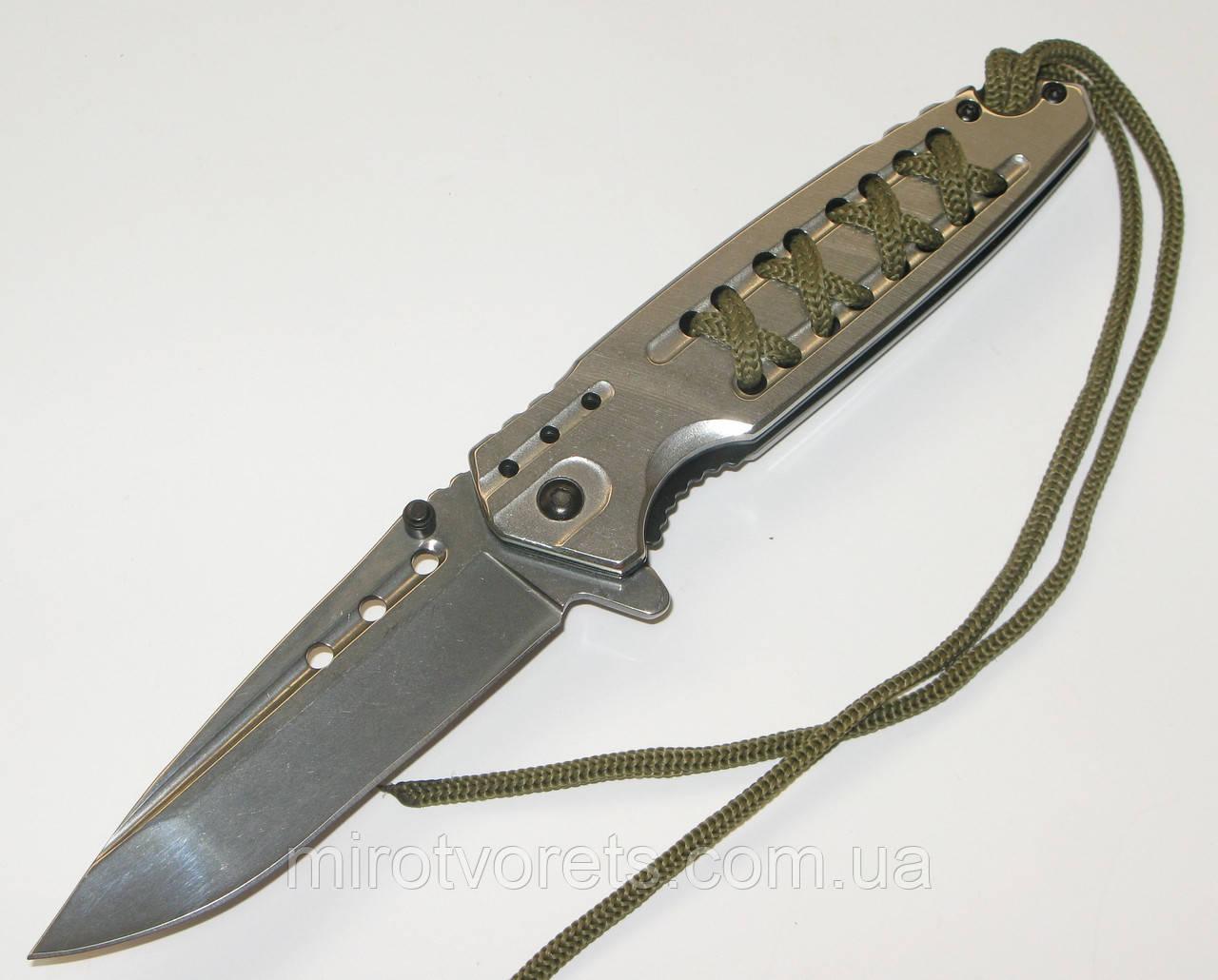 Нож полуавтомат  Magnum, металик