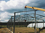 Двускатный навес, ангар 24х48 под склад, цех, фермы, каркас, зерно., фото 2