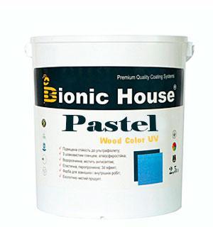 Лазурь для дерева Pastel Wood Color Bionic House 2,5л