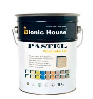 Лазурь для дерева Pastel Wood Color Bionic House 10л