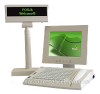 "LPOS PC-FP64 с монитором LPOS – 10""TFT LCD"