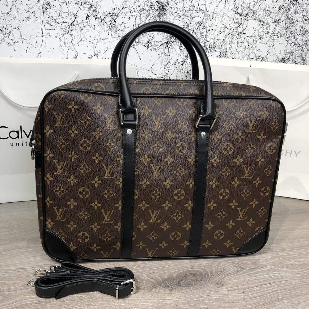 69f446c550ee Сумка мужская Louis Vuitton Porte-Dociments 18927 коричневая ...