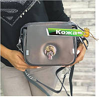Кожаная сумка Хлоя Покупай Сумки Chloé в натуральной коже Серый цвет, фото 1
