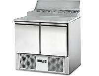 Холодильный стол для пиццы салат-бар GGM SAG97AN, фото 1