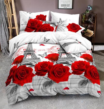 Красивое постельное бельё Голд Розы
