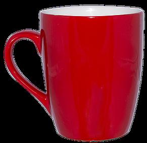 Кружка красная конус 320 мл, фото 2