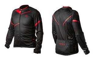 Велокуртка ONRIDE SHELL черный / красный