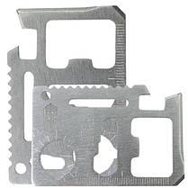 Мультитул E-SMART стальной универсальный 9 в 1 нож пила гаечный ключ линейка, фото 3