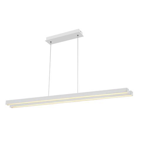 Люстра подвесная LED (линейная прямая)
