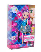 Кукла  Pretty Angelia (babyface)  с аксессуарами (в голубом платье)