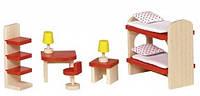 Мебель для детской комнаты, набор для кукол, Goki (51719G), фото 1