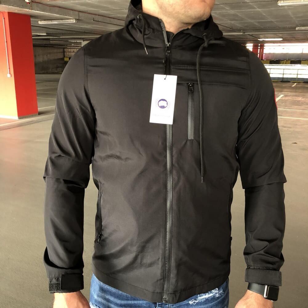 b3df0901892 Куртка мужская Canada Goose 18930 черная - купить по лучшей цене