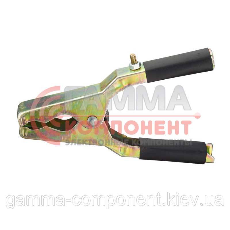 Зажим аккумуляторный (крокодил) WD021, черный