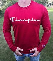 Свитшот мужской Champion D4142 красный
