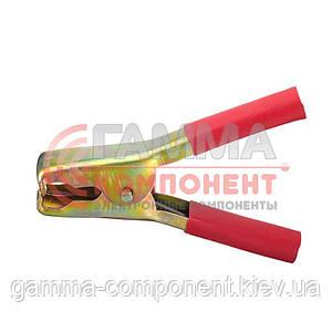 Зажим аккумуляторный (крокодил) WD020,      красный