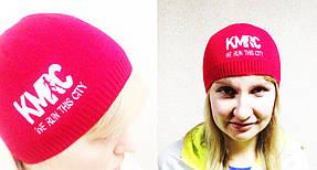 однослойная шапка с логотипом