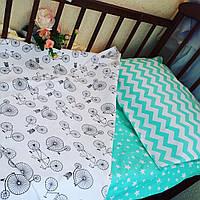 Комплект постельного белья - мята ткань, фото 1