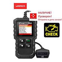 Диагностический сканер LAUNCH X431 Creader 3001 (русский язык)