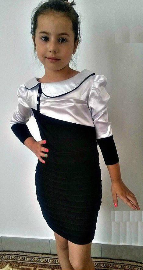 Детское платье в школу Новинка