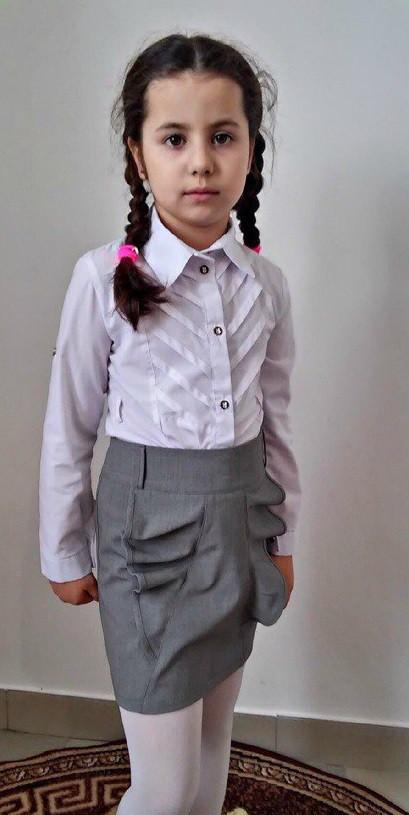 Новинка Стильная детская юбка в школу