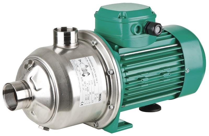 Центробежный насос высокого давления WILO Германия MHI 206 1,1 кВт 5 м3/ч напор 70 м.