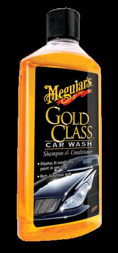 MEGUIAR'S G71 GOLD CLASS CAR WASH SHAMPOO CONDITIONER, Шампунь и кондиционер 473мл