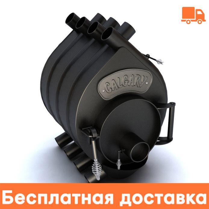 Канадская печь булерьян CALGARY 6 кВт - 125 М3 Тип-00. Бесплатная доставка.