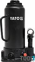 Домкрат бутылочного типа 12 тонн гидравлический Yato YT-17005