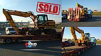 Еще один довольный клиент😁Складской колесный экскаватор JCB JS 175 W нашел новог овладельца в Иванофранковске.