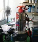 Насос погружной, фекальный, дренажный Pedrollo MCm 10/50 -i (нерж) 10 м, 750 Вт, 30 м3/ч, 12 м, фото 3