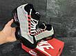 Подростковые кроссовки,термо Nike air max 95 Sneakerboot,осенние,серые с черным, фото 3