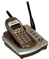 Quttan Komtel KT-8000 handset радиоудлинитель KT8000 доп трубка
