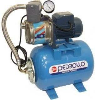 Насосная станция Pedrollo HF JCRm 10M нерж. /24CL, 0,75 кВт, 4,8 м3/ч, 46 м