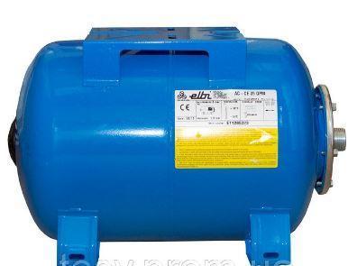 Гидроаккумуляторы для систем водоснабжения Elbi AFH 60, 60 л. горизонтальный