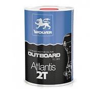 Масло для двухтактных лодочных моторов WOLVER Atlantis 2T (Германия)