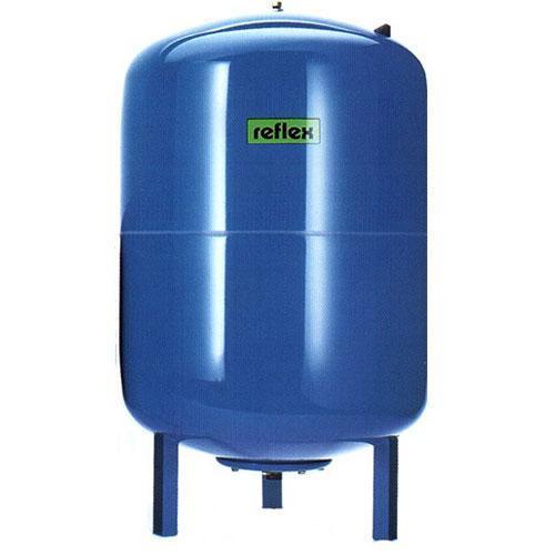 Гидроаккумулятор расширительный бак 100л. Reflex DE 100 вертикальный