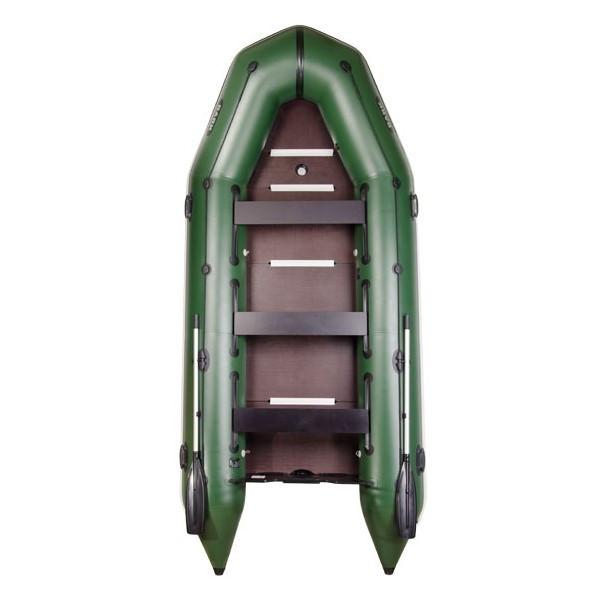 BT-420S Моторная надувная лодка Bark килевая с жестким днищем, восьмиместная