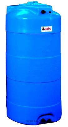 Накопительный бак для воды и других жидкостей ELBI CV 300 литров, круглый вертикальный