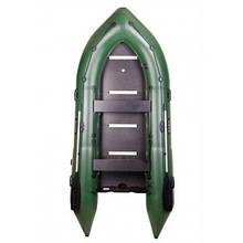 BN-360S Моторний надувний човен Bark кільової з жорстким днищем, чотиримісна